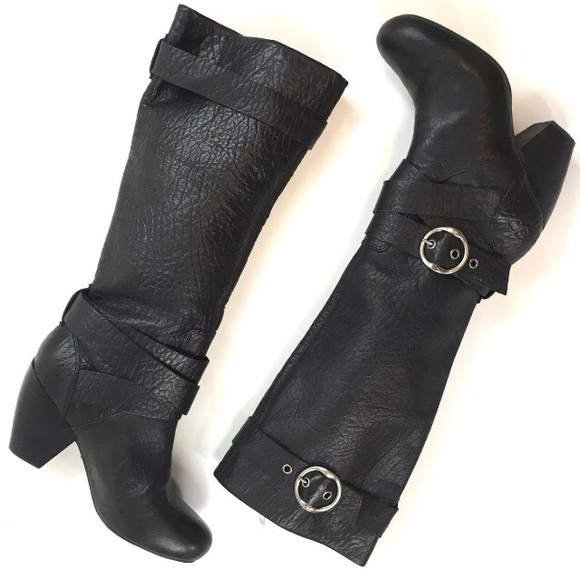 43b7f86791e Lucky Brand Shoes - LUCKY BRAND CANDICE knee high Boots pebble leather